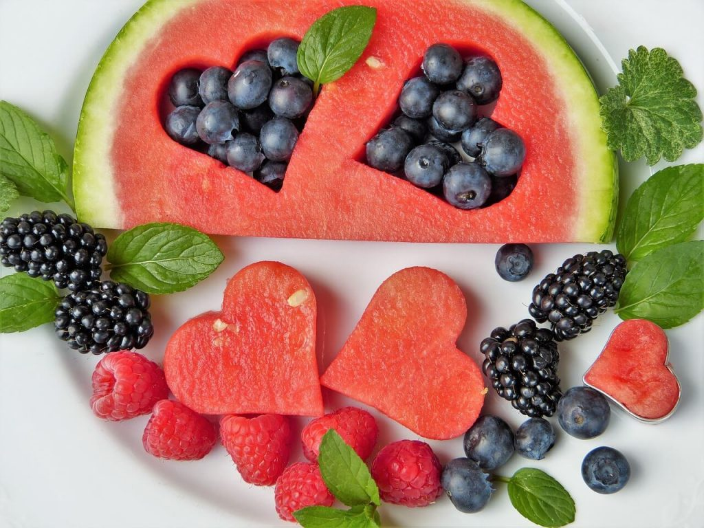 fruits and vitamins for better health